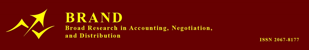 BRAND. Broad Research in Accounting, Negotiation, and Distribution (ISSN 2067-8177)