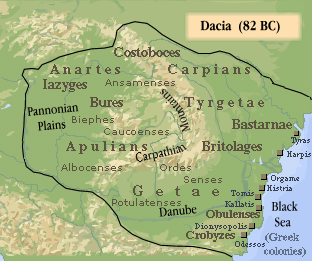 Dacia (82 î. Hr.) (Sursa: https://commons.wikimedia.org/wiki/File:Dacia_82_BC.png)