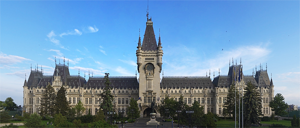 The Palace of Culture in Iasi