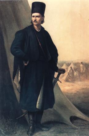 Tudor Vladimirescu, pictură de Theodor Aman
