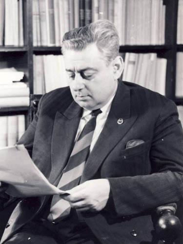 Alexandru Graur, Sursa: http://www.comunismulinromania.ro/arhiva-foto/ (autor necunoscut)