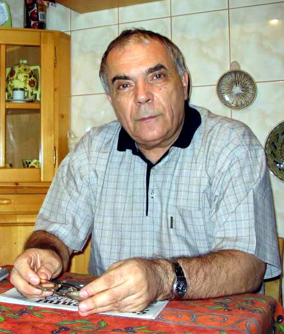 Fotografie cu Nicolae Manolescu realizata de George Onofrei in decembrie 2004.