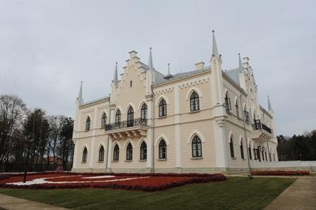 Palatul Cuza de la Ruginoasa, jud. Iași