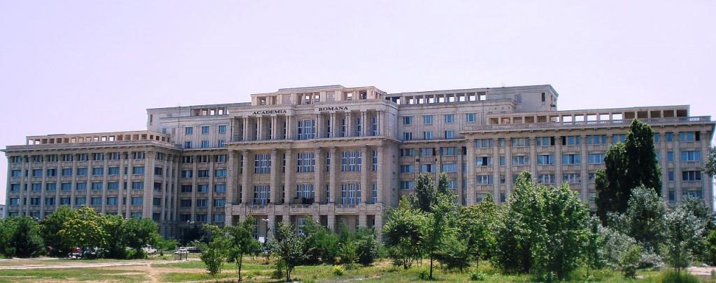 Academia Română (clădirea nouă) Sursa: Wikipedia (Gikü), http://bit.ly/1irPvmu