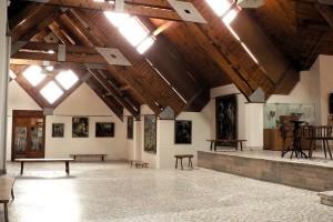 Interior din Cetatea Miko, Miercurea-Ciuc