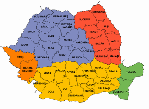 Judeţele României