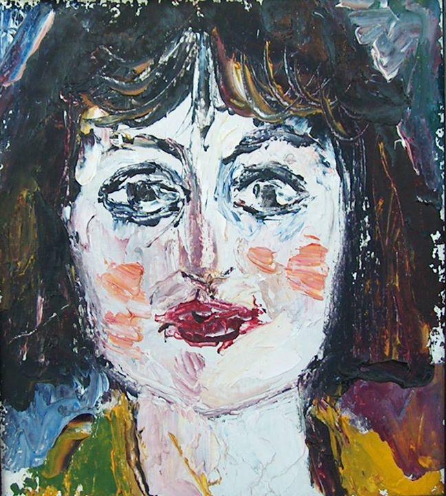 Dany Madlen, portret de Dimitrie Peicev