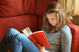 Student învățând