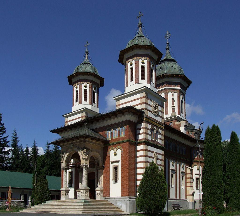 Biserica nouă a Mănăstirii Sinaia (1842-1846) (Foto Marcin Szala, Wikipedia)