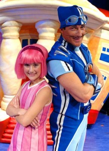 Sportacus and Stephanie