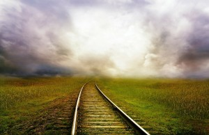 road, train