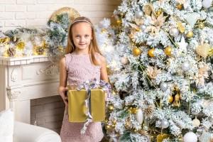 Bucuria copiilor pentru cadouri