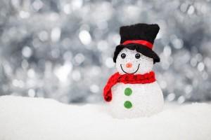 Spiritul Crăciunului - om de zăpadă