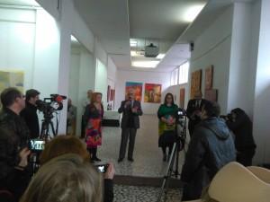Terapie prin culoare, Vernisaj, Carmen Poenaru