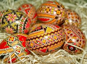 Ouă încondeiate de Paște